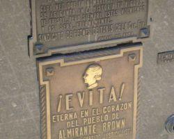Eva Peron's grave in Beunos Aires