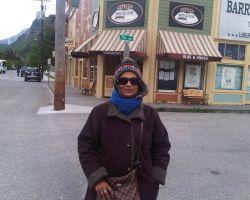 Freezing in June in Alaska!